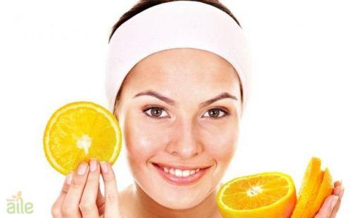 Portakal maskesi nasıl yapılır