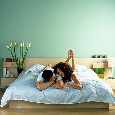Yatak odası hem sizin için hem de sevgiliniz için en mahrem